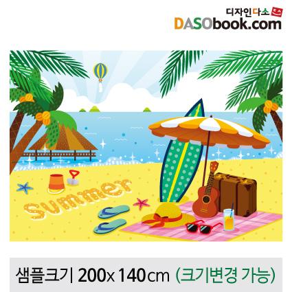 여름배경현수막-178