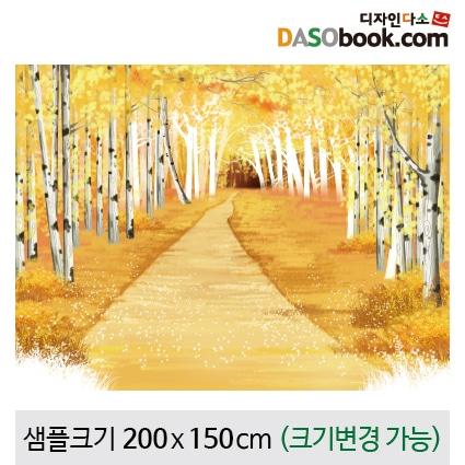 가을숲속배경현수막-034