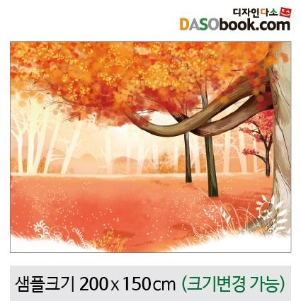 가을숲속배경현수막-035