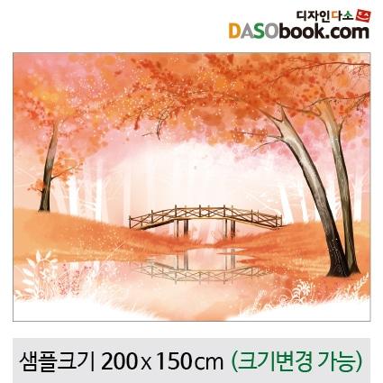 가을숲속배경현수막-036