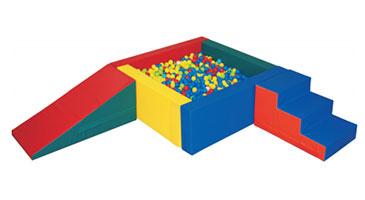 Color Cushion Ball pool (칼라쿠션볼풀장세트)