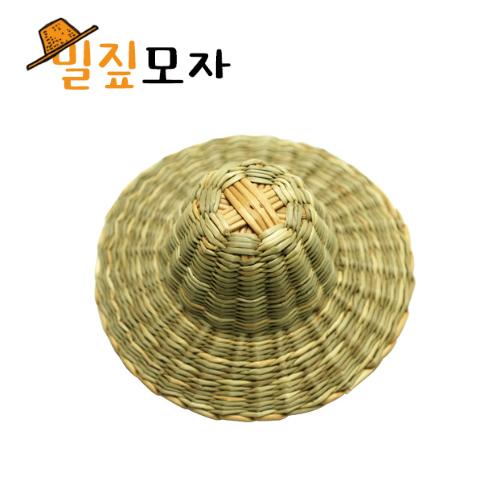 [만들기 장식재료] 밀짚모자 (1개) /우드 꽃잎 추가증정