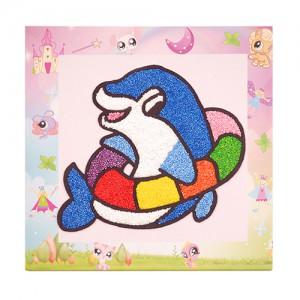 폼클레이액자만들기-돌고래(5개)