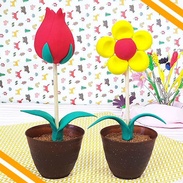 [봄/하비클레이] 봄햇살에 피어나는 꽃 [5인용]